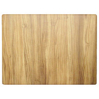 Grosfillex US24H726 24 inch x 32 inch Rectangular Chesnut Outdoor / Indoor HPL Compact Table Top