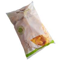 Premium Quality IQF Sliced Peaches 5 lb. Bag   - 4/Case