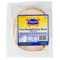 Kunzler 12 oz. Pack Oven Roasted Sliced Turkey Breast - 8/Case