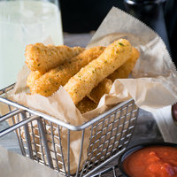 Colony Lane 2 lb. Breaded 3 inch Mozzarella Cheese Sticks - 6/Case