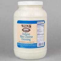 Ken's Foods 1 Gallon Deluxe Bleu Cheese Dressing - 4/Case