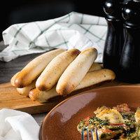 European Bakers 8 inch Garlic Breadsticks - 132/Case