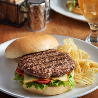 Farmland Foods Gold Medal 8 oz. Black Angus Burgers - 20/Case