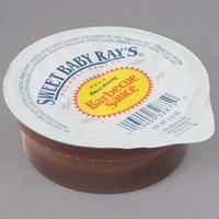 Sweet Baby Ray's 2 oz. BBQ Sauce Dipping Cup - 72/Case