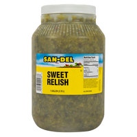 B&G San-Del 1 Gallon Sweet Relish - 4/Case