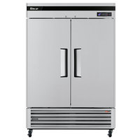 Turbo Air TSF-49SD Super Deluxe 54 inch Solid Door Reach In Freezer
