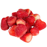 IQF Bag Frozen Whole Strawberries 5 lb. - 2/Case