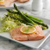 Ocean Street Wild Caught Pacific Salmon 4 oz. Fillet - 10 lb.