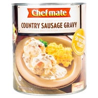 Chef-Mate #10 Can Country Sausage Gravy - 6/Case