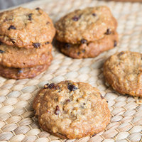 David's Cookies 1.5 oz. Preformed Oatmeal Raisin Cookie Dough - 20 lb.