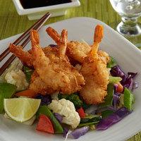 Singleton Seafood 3 lb. Coconut Butterfly Breaded 16/20 Shrimp - 4/Case