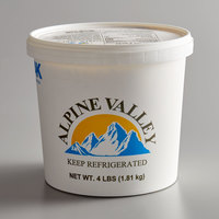 AAK Foodservice 4 lb. Tub Garlic Spread   - 6/Case