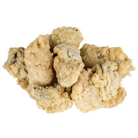 Boudreaux's 2 lb. Bags 25-35 Count Homestyle Breaded Oysters   - 5/Case