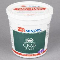 Minor's Crab Base 1 lb. Tub - 6/Case