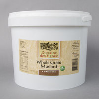 Domaine des Vignes 11 lb. French Whole Grain Mustard