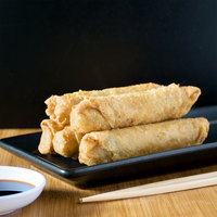 Minh 3 oz. Pork and Vegetable Egg Rolls - 72/Case