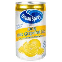 Ocean Spray 5.5 oz. White Grapefruit Juice - 48/Case