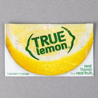 True Citrus 0.8 Gram Unsweetened Lemon Mix Portion Packet   - 500/Case