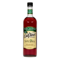 DaVinci Gourmet 700 mL Pacific Northwest Raspberry All Natural Coffee Flavoring / Fruit Syrup