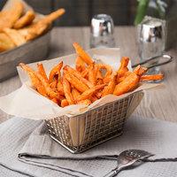 McCain 2.5 Ib. Harvest Splendor 5/16 inch Extra Long Thin Sweet Potato Fries - 6/Case