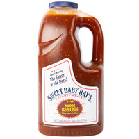 Sweet Baby Ray's 1 Gallon Sweet Red Chili Pepper Wing Sauce and Glaze - 4/Case