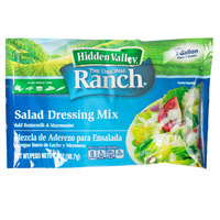 Hidden Valley 3.2 oz. Ranch Salad Dressing Mix - 18/Case