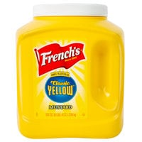 French's 105 oz. Classic Yellow Mustard Jug   - 4/Case