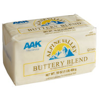 1 lb. Trans Fat Free Buttery Blend - 30/Case