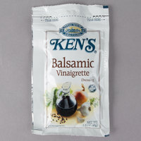 Ken's Foods 1.5 oz. Balsamic Vinaigrette Packet - 60/Case
