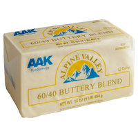 1 lb. 60 / 40 Buttery Blend Solid - 30/Case