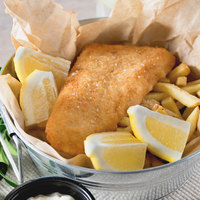 High Liner Foods 4 oz. Wild Caught Raw Breaded Haddock Tail Portions - 10 lb.
