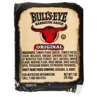 Bull's-Eye 1 oz. Barbecue Sauce Dipping Cup - 100/Case