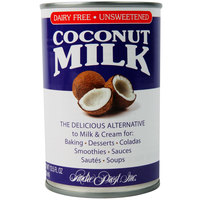 Andre Prost 13.5 oz. Unsweetened Coconut Milk - 12/Case