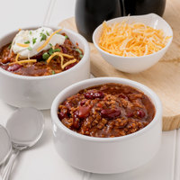 Chef Francisco 4 lb. Timberline Chili with Beans - 4/Case