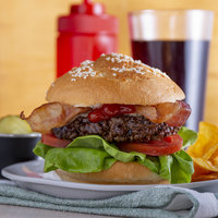 Farmland Foods Gold Medal 6 oz. Black Angus Burgers - 27/Case