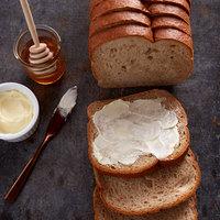 Bakery de France 5/8 inch Sliced Rustic Honey Wheat Bread Loaf - 6/Case