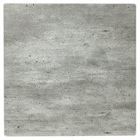 Grosfillex UT320038 32 inch Square Granite Outdoor / Indoor HPL Compact Table Top