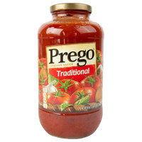 Prego 45 oz. Traditional Italian Pasta Sauce   - 6/Case