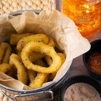 Singleton Seafood 5 lb. Bag of Breaded Calamari Rings - 2/Case