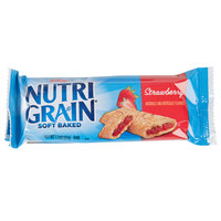 Kellogg's Nutri Grain 1.3 oz. Strawberry Cereal Bar 16 Count Box - 3/Case