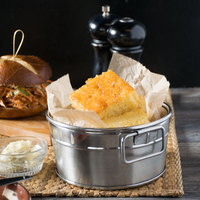 Chef Pierre 30 Ct. Northern Style Pre-Cut Cornbread - 4/Case