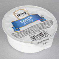 Heinz 2 oz. Ranch Dressing Cup - 60/Case