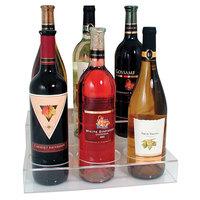 Acrylic Bottle Holder for 6 Bottles