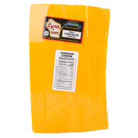 Lynn Dairy Yellow Mild Cheddar Cheese - 10 lb. Solid Block
