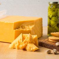 Lynn Dairy Yellow Mild Cheddar Cheese - 10 lb. Solid Block