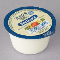 Ken's Foods 1.5 oz. Bleu Cheese Dressing Cup - 100/Case