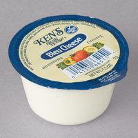 Ken's Foods 1.5 oz. Bleu Cheese Dressing Cup   - 100/Case