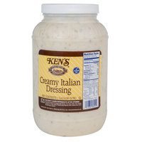 Ken's Foods, Inc. 1 Gallon Creamy Italian Dressing - 4/Case