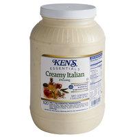 Ken's Foods 1 Gallon Creamy Italian Dressing - 4/Case