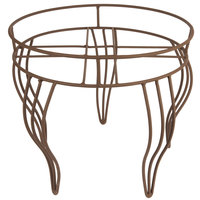 18 1/2 inch Round Wire Basket Stand